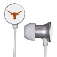 Texas Longhorns Scorch Earbuds + Mic with BudBag