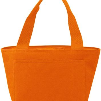 Insulated Cooler Tote Lunch Bag - Orange - CASE OF 24