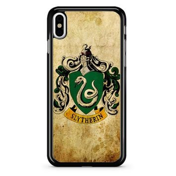 Slytherin Crest Harry Potter iPhone X Case