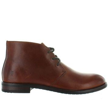 ONETOW Frye Boot Sam Chukka - Cognac Leather Chukka Boot
