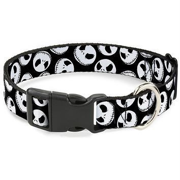 Buckle-Down Nightmare Before Christmas Jack Expressions Pet Collar