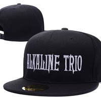 Alkaline Trio Band Logo Adjustable Snapback Embroidery Hats Caps