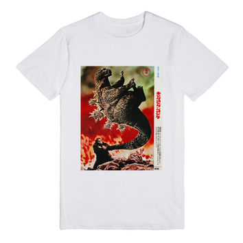 KING KONG VS. GODZILLA JAPANESE MOVIE POSTER T-SHIRT - LIGHT