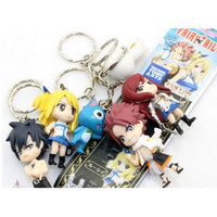 6 Pc. Fairy Tail Key Chains