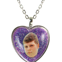 YUNG LEAN GLITTER NECKLACE