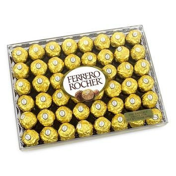 Ferrero Rocher Diamond Gift Box: 48 pieces