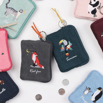 Tailorbird pastel card case wallet