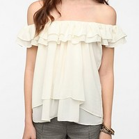 Lovers & Friends Baby Love Ruffle Blouse