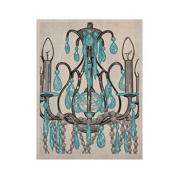"Sam Posnick ""Chandelier"" KESS Naturals Canvas (Frame not Included)"