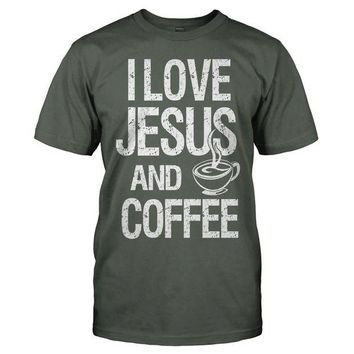 DCCK I Love Coffee And Jesus