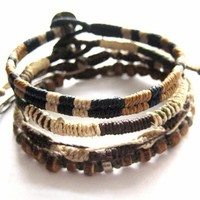 Wakami Earth Bracelet | Wakami Fair Trade Bracelets | Made in Guatemala | Come Together Trading