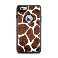 The Real Giraffe Animal Print Apple iPhone 6 Plus Otterbox Defender Case Skin Set