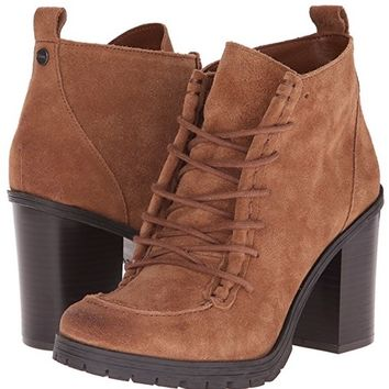 Circus by Sam Edelman Denver Brown Suede Boot Heel