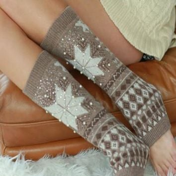 Winter Wonderland Leg Warmers - 5 Colors