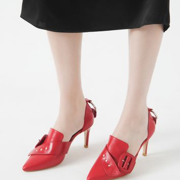 Nina Zarqua - Red Pumps - Pumps