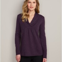 Shawl Collar Sweatshirt Sweater | Eddie Bauer