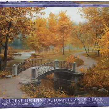 Autumn in an Old Park - 1000 Piece Jigsaw Puzzle