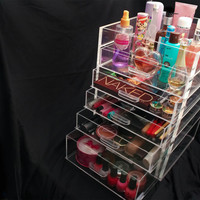 6 Drawer Acrylic Makeup Organizer by AcrylicMakeup on Etsy