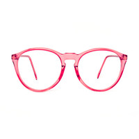 Clavel transparent Round Vintage Eyeglasses
