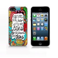 quote, Iphone 5 Case - Iphone 5s Case - Hard Plastic Case
