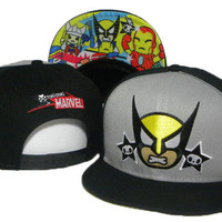 TokiDoki Marvel Wolverine Snap-back Cap for Adults