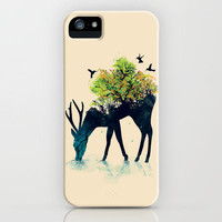 Watering (A Life Into Itself) iPhone Case | Print Shop