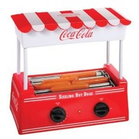 Amazon.com: Nostalgia Electrics Coca-Cola Series HDR565COKE Hot Dog Roller: Kitchen & Dining