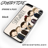 Superwholock Cartoon For Iphone 6 Plus Case YG