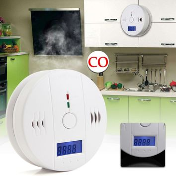 Carbon Monoxide Gas Detector  High Sensitivity Warning Safety Alarm