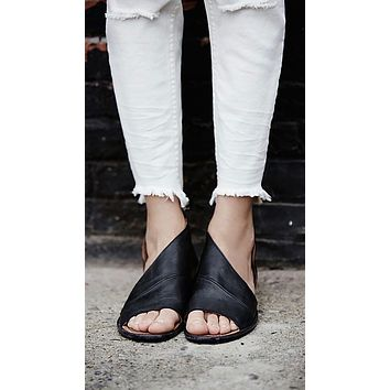 Free People Mont Blanc Sandal Black