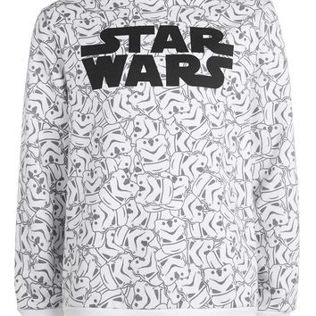 White Star Wars Sweatshirt - Topman