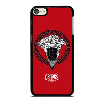 CROOK AND CASTLES BANDANA RED iPod Touch 4 5 6 Case Cover