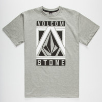Volcom Apex Boys T-Shirt Heather  In Sizes
