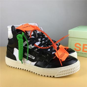 OFF-WHITE CO VIRGIL ABLOH 18SS Black/White Size 36-44