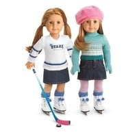 "American Girl Mia's 2-in-1 Skate Outfit for an 18"" Doll ~DOLLS AND SKATES ARE NOT INCLUDED~"