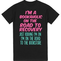 ROAD TO THE BOOKSTORE   T-Shirt   SKREENED