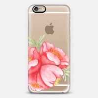 Red Hot Hibiscus iPhone 6s case by Seek Paper Co. | Casetify