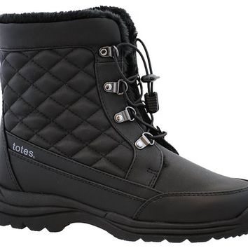 Totes Womens Troy Snow Boot (Available in Medium and Wide Width)