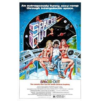 Spaced Out (Outer Touch) Movie poster Metal Sign Wall Art 8in x 12in