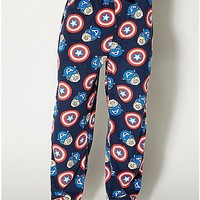 Captain America Lounge Pants - Spencer's