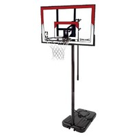 Spalding Polycarbonate Portable Basketball System - 44