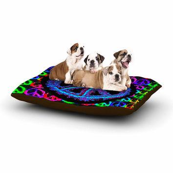 "Anne LaBrie ""Heavenly Peace"" Blue Digital Dog Bed"