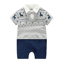 Baby Boy Clothes Summer Baby Boy Clothing Sets 2017 Newborn Baby Clothes Cotton Baby Rompers Roupa Bebes Infant Jumpsuits