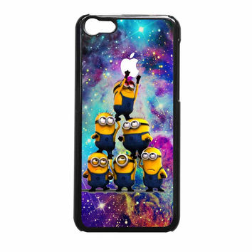 Despicable Me Minions In Galaxy Logo iPhone 5c Case