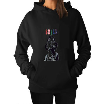 Smile Graffiti 009eb3f1-76c9-46b5-a8fd-bae25b35430b For Man Hoodie and Woman Hoodie S / M / L / XL / 2XL*AP*