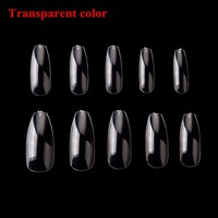 Aliexpress.com : Buy Makartt 500pcs/Bag Ballerina Nail Art Tips Clear/Natural Coffin Nails Art Tips Flat Shape Full Cover Manicure Nail Tips A0499 from Reliable nail tips suppliers on Proto Nail Art & Beauty Products Wholesales
