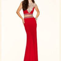 Two Piece Paparazzi Prom Dress 98134