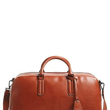 Men's Ben Minkoff 'Jermyn' Leather Duffel Bag