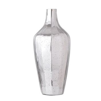 Antiqued Glass Vase, Silver By A and B Home