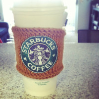 Starbucks Coffee Cozy by CoffeeCozyFactory on Etsy